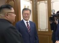 정상회담 욕설, 남북 촬영자간 자리싸움서 비롯된 신경전인...