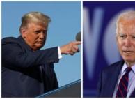 """트럼프·바이든 코로나 공방 """"환자수 부풀려"""" vs """"대통령 ..."""