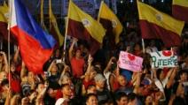 필리핀 '마약 전쟁' 지지 20만 시위가 피플파워?