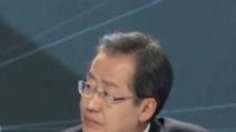 """홍준표, 文 돌려까기 """"주적 말 못하는 사람은 저기에…"""""""