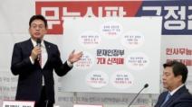 """정우택 """"적폐청산 부처별 TF 위법…임종석 등 고발"""""""