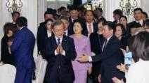 """文 대통령 """"카자흐는 비핵화로 경제 번영"""""""