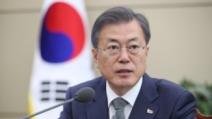 """文대통령 """"DJ, 한일 우호·협력의 길에도 새 이정표"""""""