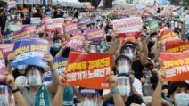 """의협 """"의대증원 철회 않으면 이달말 2차 파업"""""""
