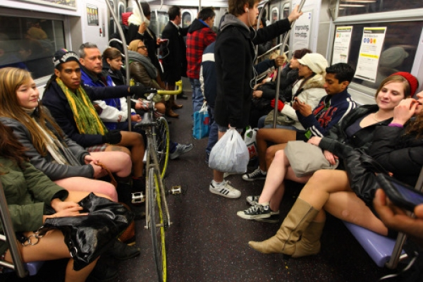 'No Pants Subway Ride'