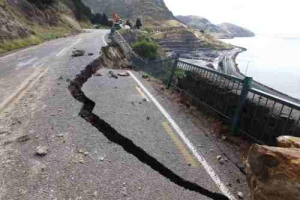 A huge quake that hit Christchurch in NZ