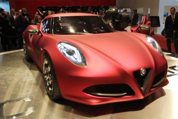 An Alfa Romeo 4C