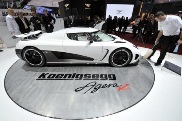 A new Koenigsegg Agera R car