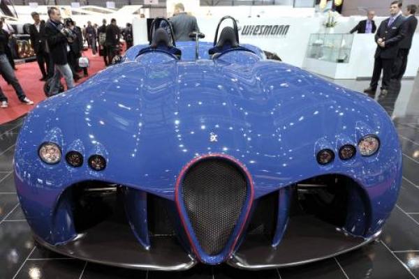A new Wiesmann Spyder concept car