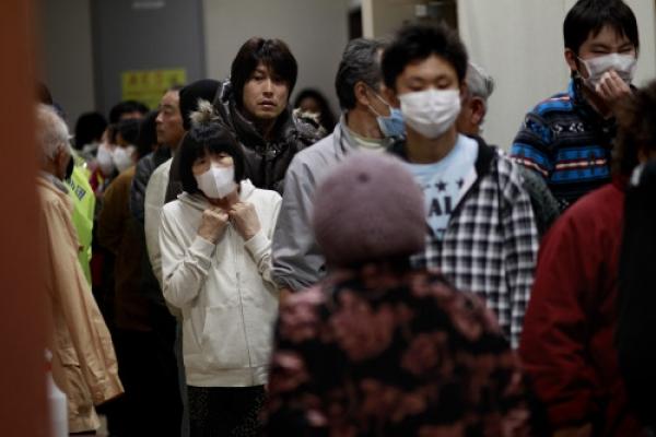 Koreans admire Japan's calm