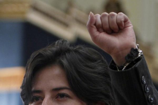 Bolivia's new female defense minister