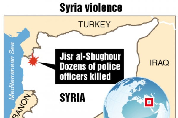 Attack kills 120 Syrian forces; crackdown feared