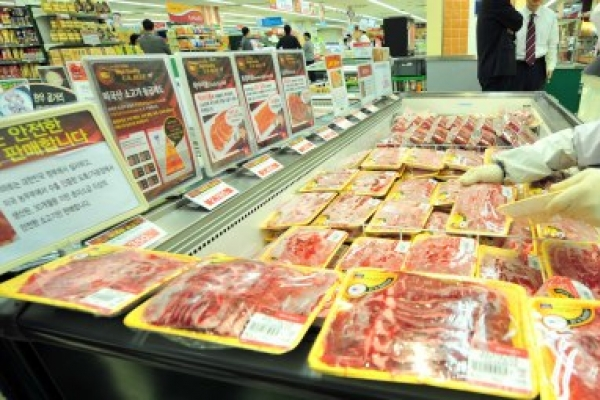 Imported beef market widens