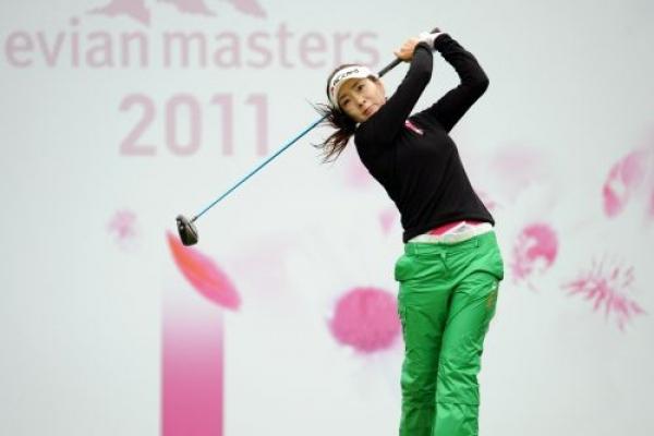 Ahn shares lead at Evian Masters