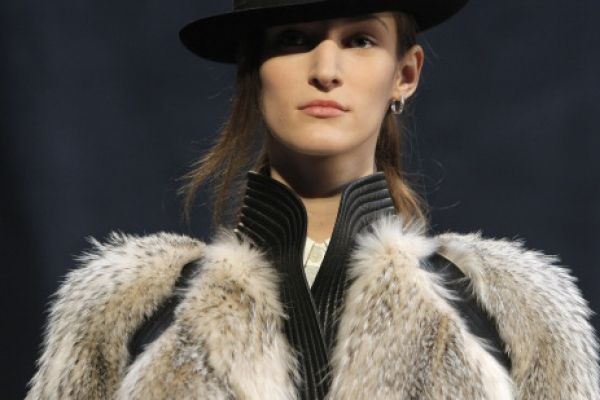 Equestrian styles on show in Paris fashion week