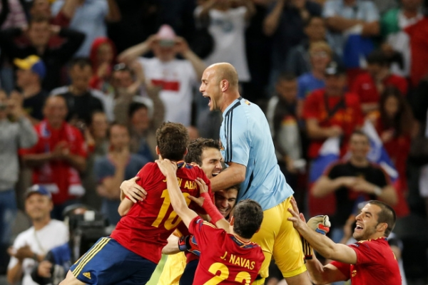 Spain beats Portugal on penalties at Euro 2012