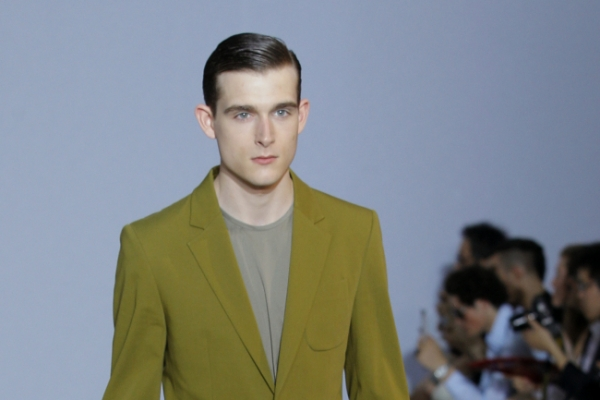 Hermes, Dior play it safe with color