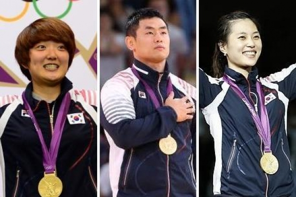 S. Korea clinches 3 more golds overnight