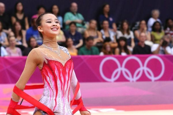 Korean rhythmic gymnast Son makes first Olympic final
