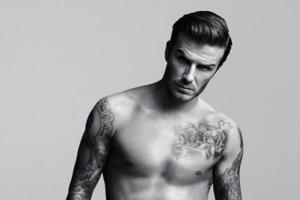 David Beckham back in new H&M underwear ads