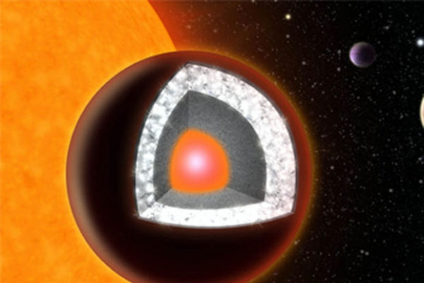 Distant planet may be mostly diamond