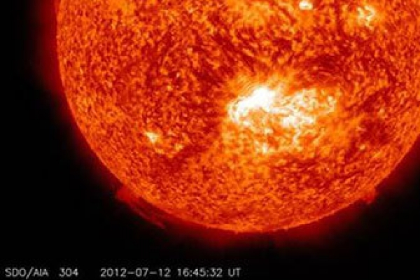 Flip-flop of Earth's magnetic field probed