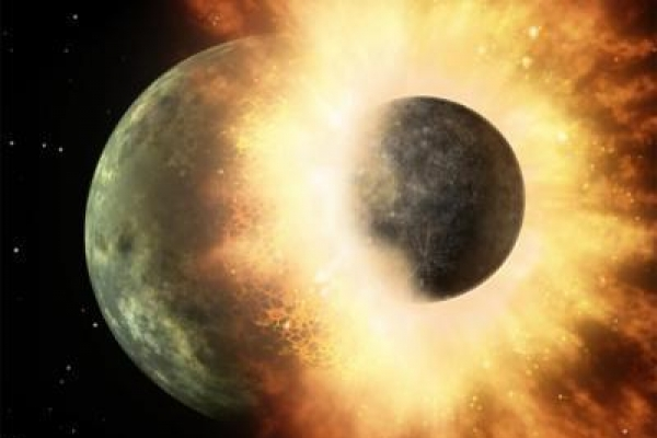 Giant smashup created the Moon, say scientists