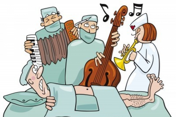 Should doctors listen to music while operating?