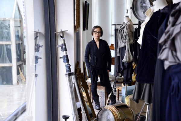 Designer honored by French order