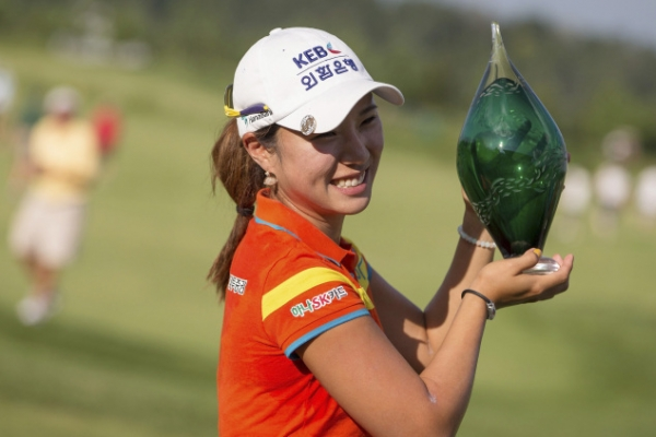 Park Hee-young claims second LPGA win in Canada