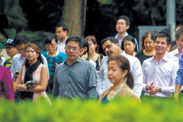 Race not an issue in Singapore, study finds