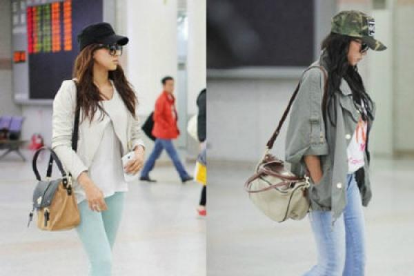 South Korean celebrities feel pressure on 'airport catwalk'