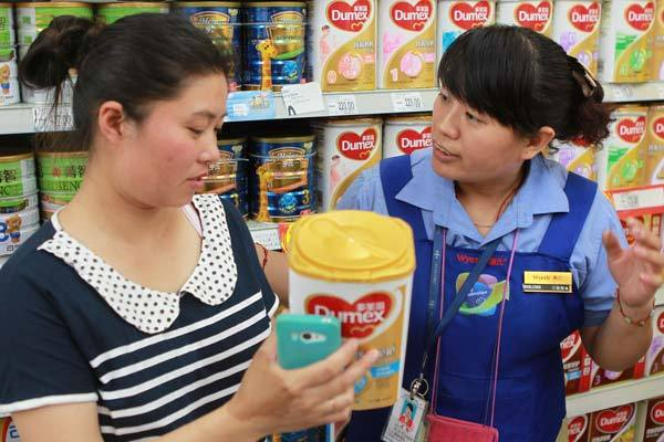 N.Z. milk stokes fears in China