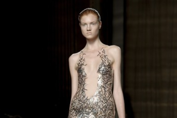 Lashings of sequins on second day of London Fashion Week