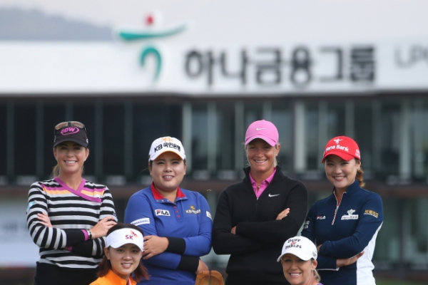 Top female golfers to duel for honors in only LPGA stop in Korea
