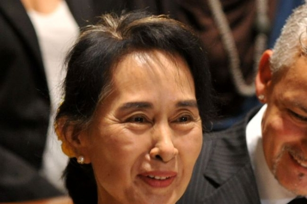 Aung San Suu Kyi collects Rome honorary citizenship
