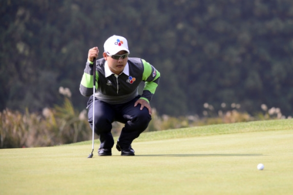 Kim takes lead after 2nd round at Herald-KYJ
