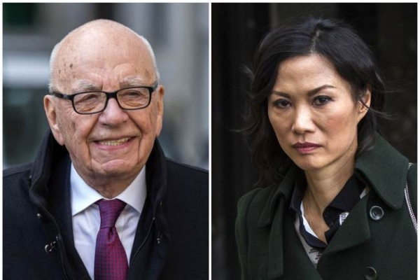 Murdoch seals 'amicable' divorce from third wife