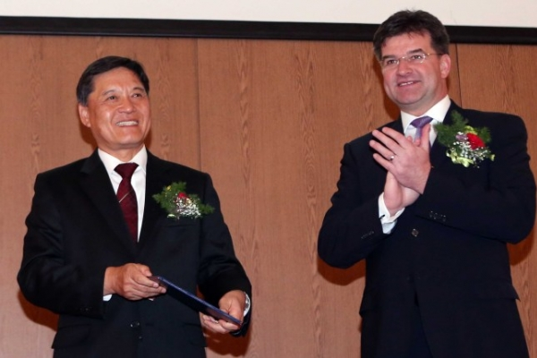 Slovak honorary consulate opens in Busan