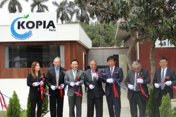 Korea opens agricultural research center in Peru