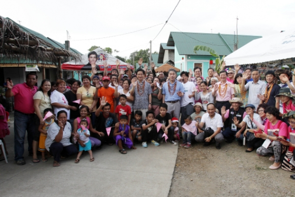 Philippine village named after Gangneung