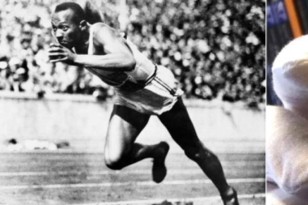 Jesse Owens' gold medal up for sale