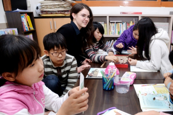 Free after-school classes light up hope for N.K. kids