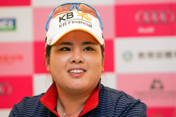 Park In-bee voted top female golfer
