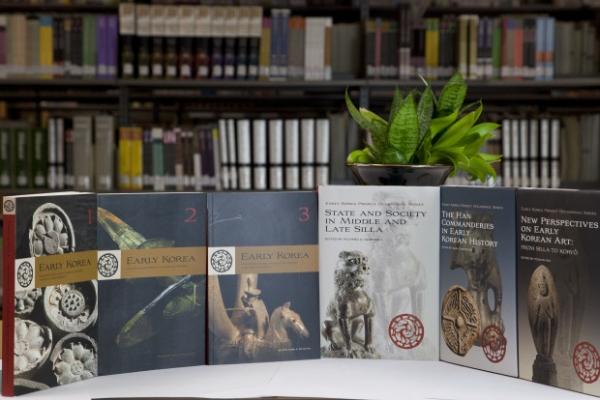 Books on early Korean history published by Harvard University