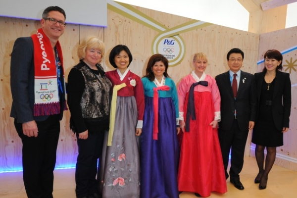 [Photo News] P&G in Sochi
