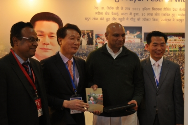 Urim Books exhibits book by pastor at New Delhi Book Fair
