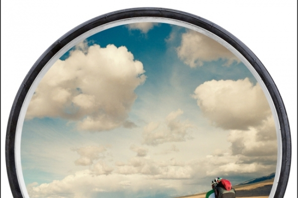'Life Is a Wheel,' across America on two-wheels
