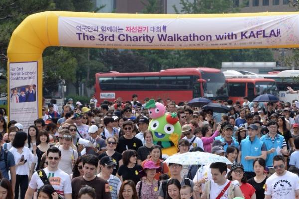(Photo News) Walk to donate