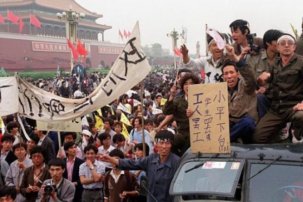 Tiananmen lost in history to today's youth